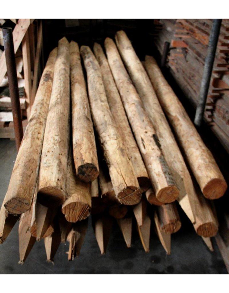 Deboscat Ontschorste kastanjepalen, L: 250cm, D: 8-10cm