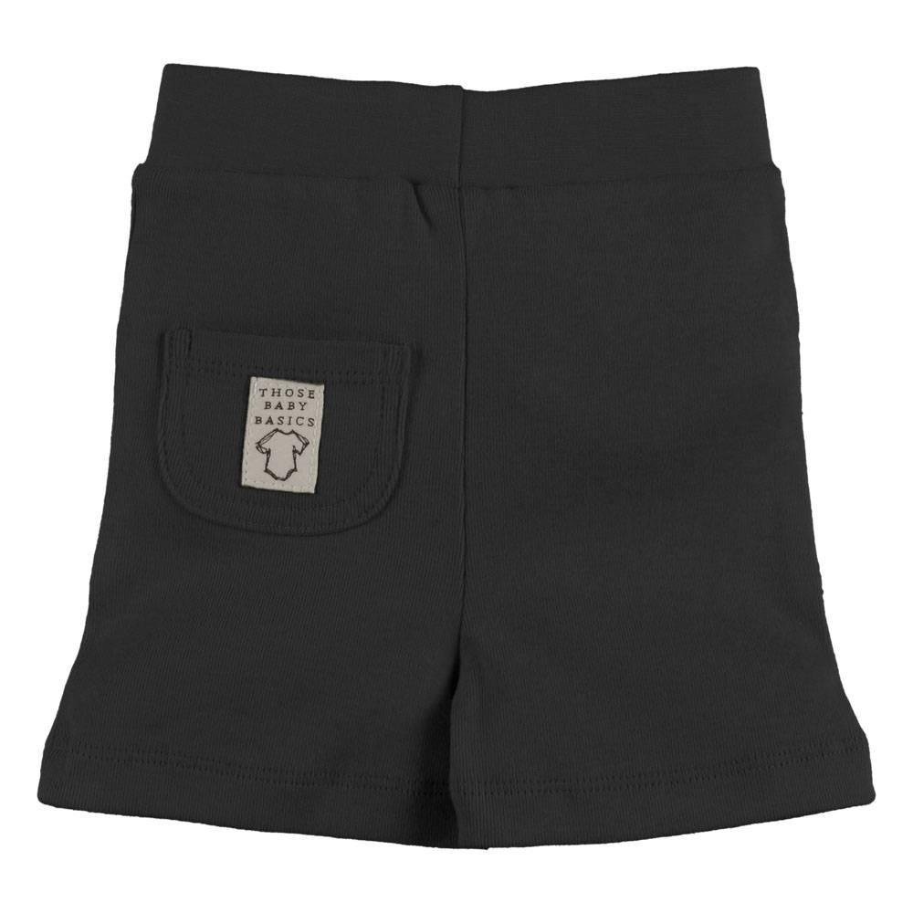 Baby Short Pocket Schwarz