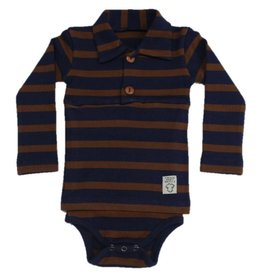 Polo Onesie Long Sleeve