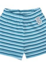 Baby Short Girl Petrol Stripe