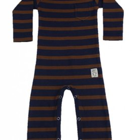 Playsuit Toffee Stripe