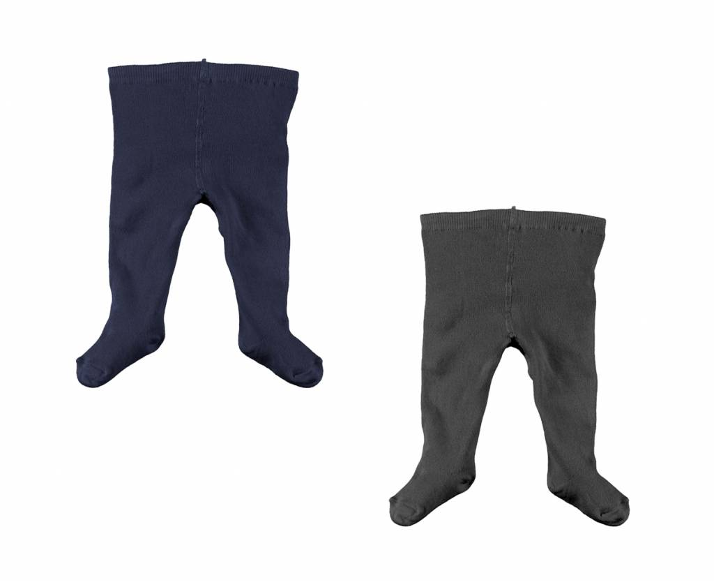 Stockings Set - Navy/Black