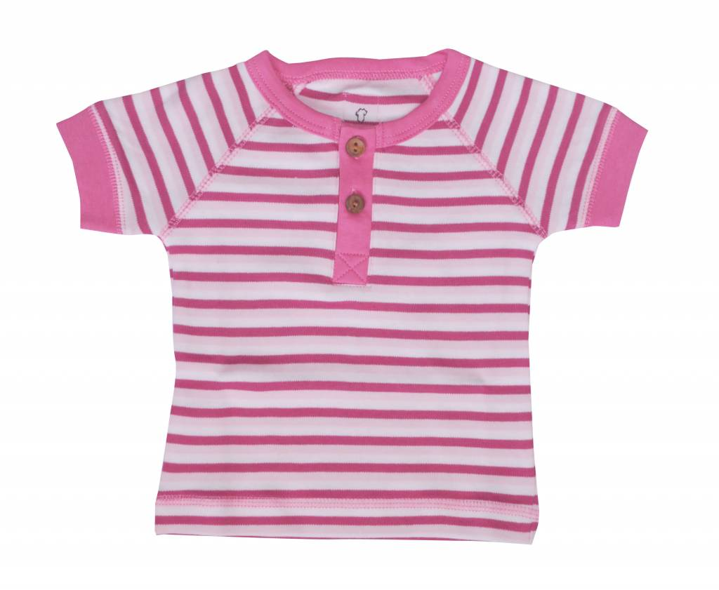 T-Shirt - Pink Stripe