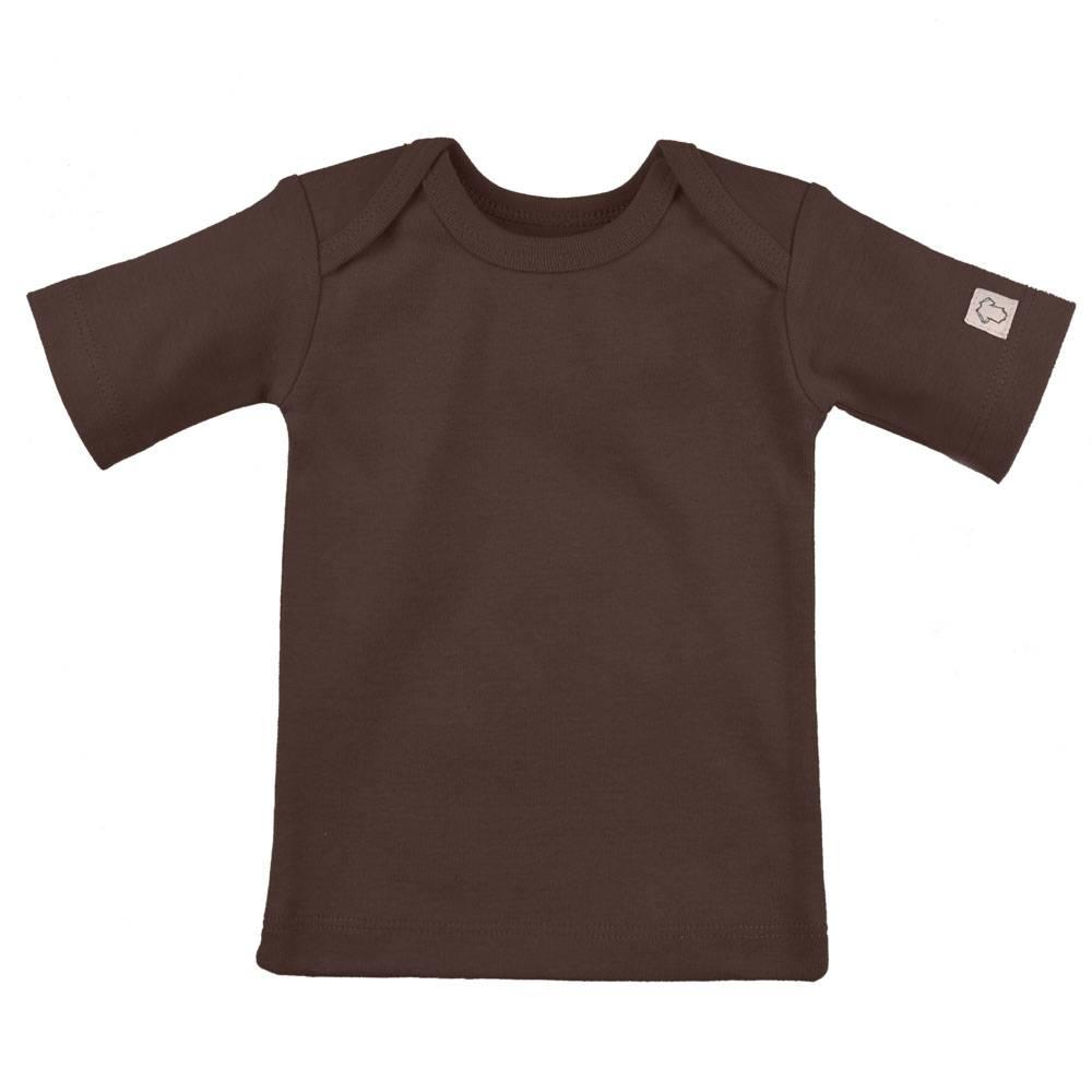 T-Shirt Korte Mouw - Chocolate
