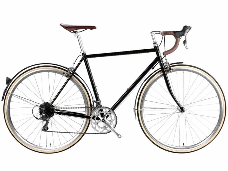 6KU Troy 16spd City Bike- Del Rey Black
