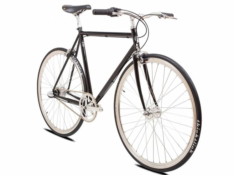 BLB Classic Commuter 3spd Bike - Black