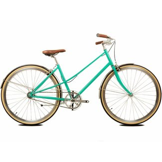 BLB Cleo Single Speed Ladies Bike - Emerald