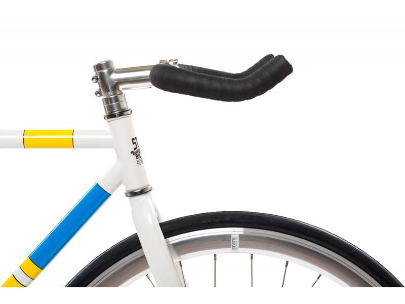 State Bicycle The Simpsons X State Bicycle Co. - Color Block Bike (4130 Core-Line)