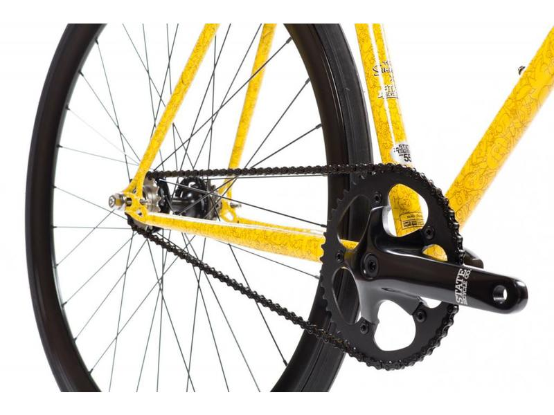 State Bicycle Co. X The Simpsons - Sprigfield Character Wrap Bike (4130 Core-Line)