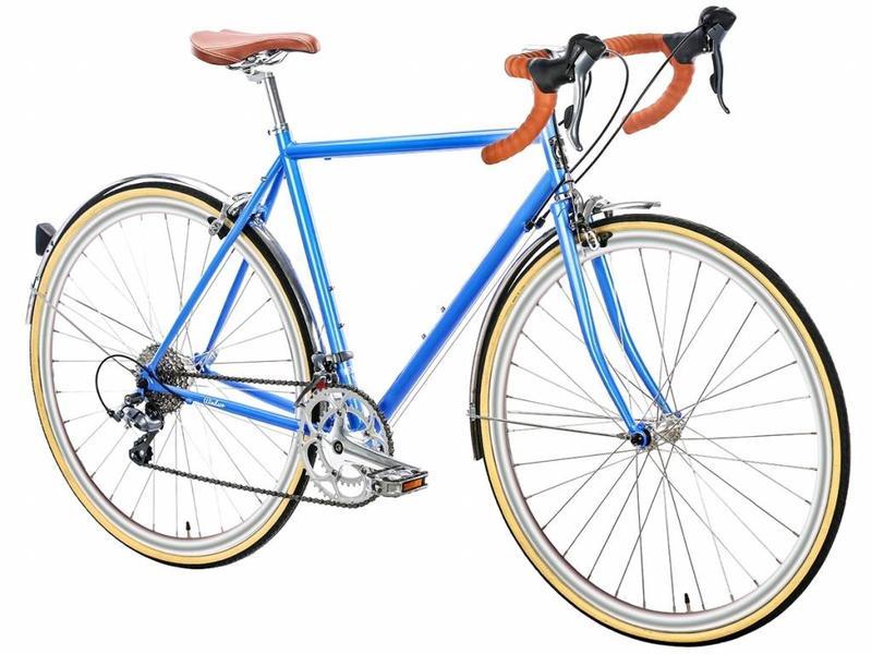 6KU Troy 16spd City Bike - Windsor Blue