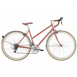 6KU Helen 16Spd City Bike - Rose