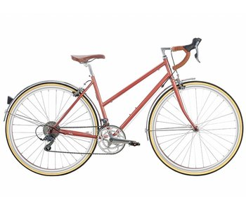 6KU Helen 16Spd City Bike - Rose