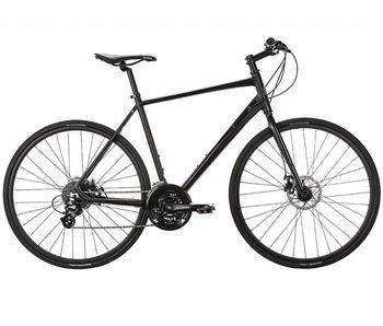 Populo Fusion Disc 2.0 Hybrid Bike - Black