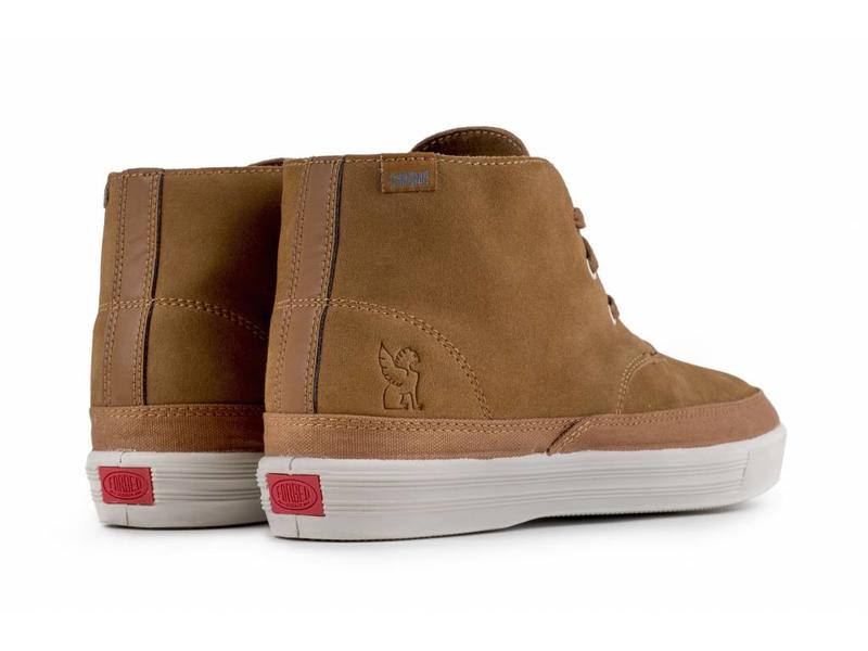 Chrome Industries Suede Chukka Golden Brown/Off White