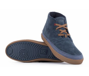 Chrome Industries Suede Chukka Indigo/Golden Brown