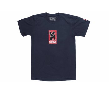 Chrome Industries Lock Up Tshirt Heather Navy