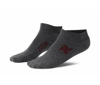 Chrome Industries No Show Socks Grey
