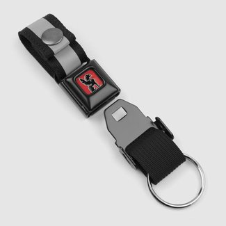 Chrome Industries Mini Buckle Key Chain Black/Black