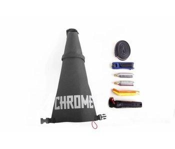 Chrome Industries Knurled Seat Bag Gravel Black