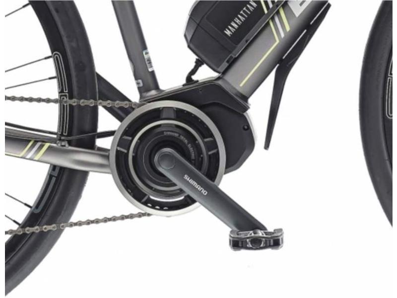 Bianchi Manhattan Unisex Shimano XT 10sp Shimano Steps E-6000