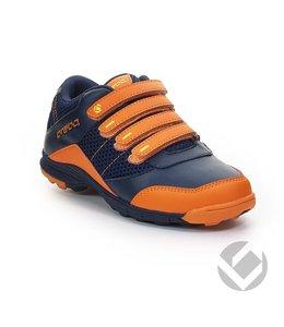 Brabo Velcro Navy/Oranje/Lime