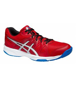 Asics Gel-Upcourt Rot/Silber/Blau Indoor
