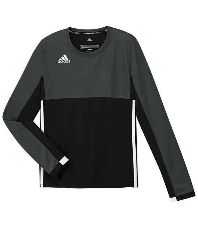 Adidas T16 Long Sleeve Shirt Girls Zwart