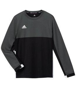 Adidas T16 Long Sleeve Shirt Jungen Schwarz