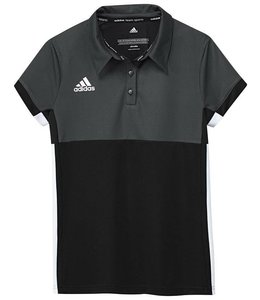 Adidas T16 Polo Girls Zwart