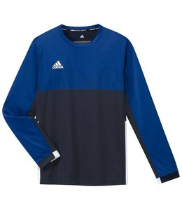 Adidas T16 Long Sleeve Shirt Boys Navy