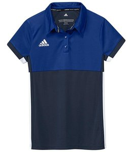 Adidas T16 Polo Girls Navy