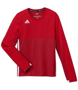 Adidas T16 Long Sleeve Shirt Girls Rood
