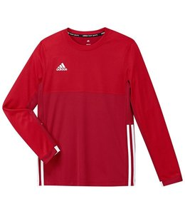 Adidas T16 Long Sleeve Shirt Boys Rood