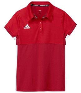 Adidas T16 Polo Boys Rood