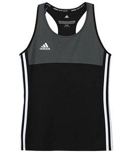 Adidas T16 Singlet Mädchen Schwarz