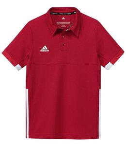 Adidas T16 Team Polo Kinder Rot