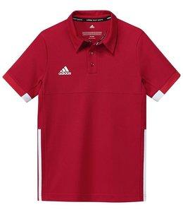 Adidas T16 Team Polo Kinder Rot