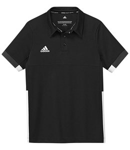 Adidas T16 Team Polo Kinder Schwarz