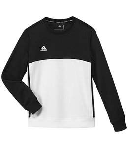 Adidas T16 Crew Sweater Kids Zwart