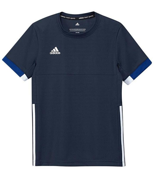 Adidas T16 Team Shirt Kinder Navy