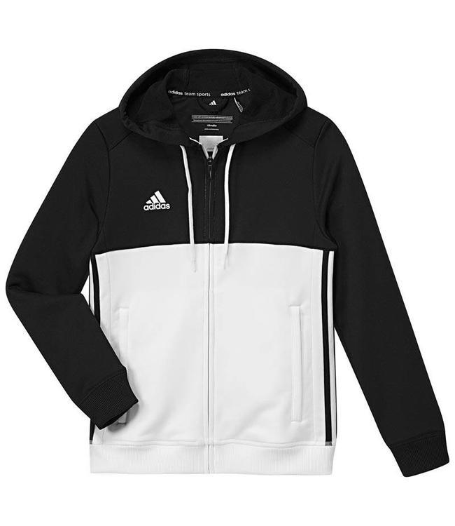 Adidas T16 Hoody Kids Zwart