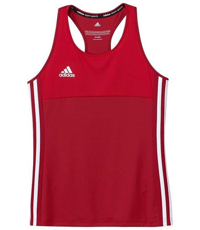 Adidas T16 Singlet Mädchen Rot