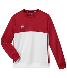 Adidas T16 Crew Sweater Kinder Rot