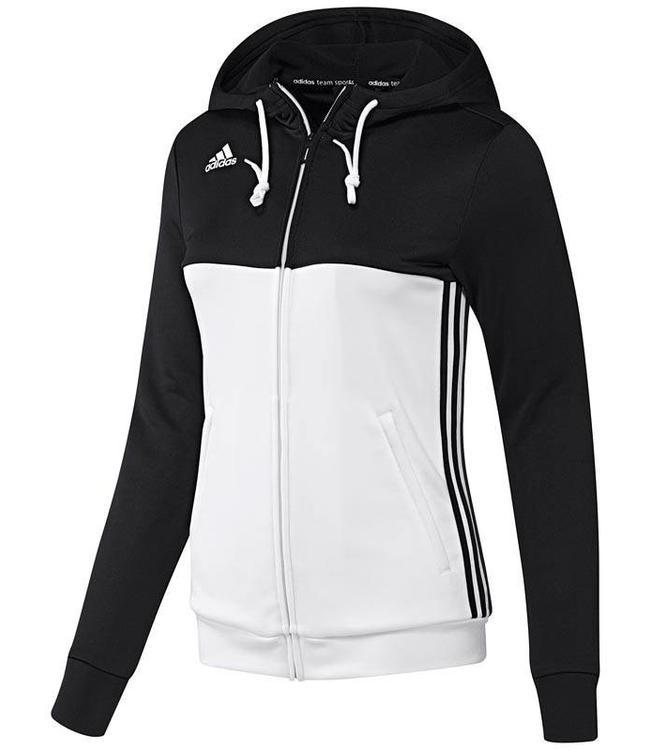 Adidas T16 Hoody Dames Zwart
