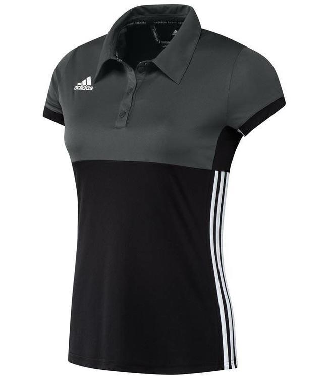 Adidas T16 Polo Dames Zwart