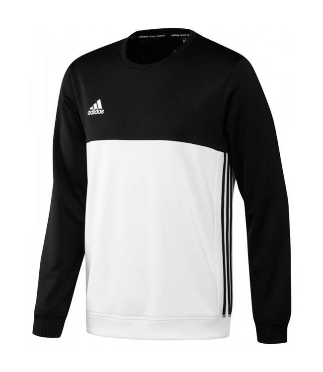 Adidas T16 Crew Sweater Heren Zwart