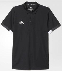 Adidas T16 'Offcourt' Team Polo Heren Zwart