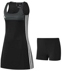 Adidas T16 Jurk Dames Zwart