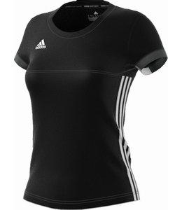 Adidas T16 'Offcourt' Team T-shirt Dames Zwart