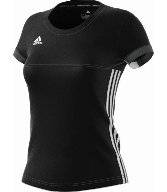 Adidas T16 'Offcourt' Team T-shirt Damen Schwarz